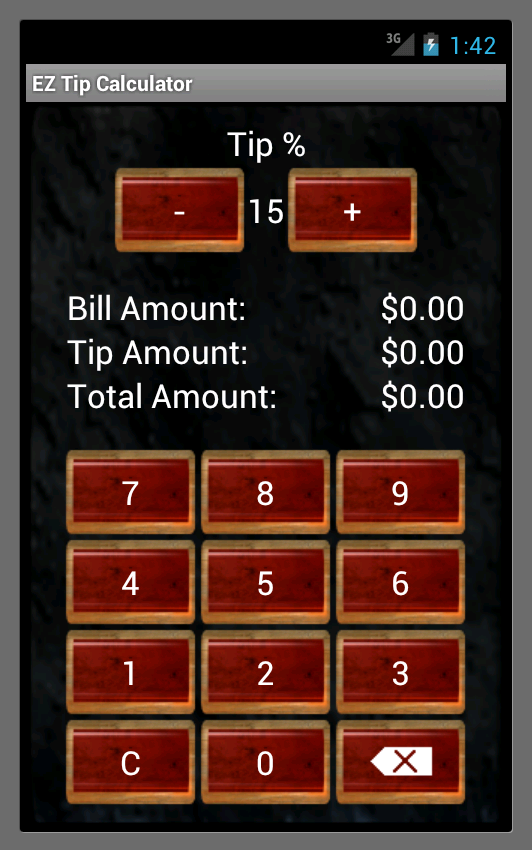 Ez Tip Calculator